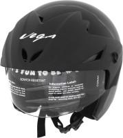Vega Cruiser Motorsports Helmet - M (Gloss Black)