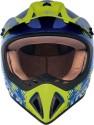 Fastrack Motocross Motorsports Helmet - Large - Purple