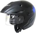 Vega Cruiser W/P Arrows Motorsports Helmet - M (Black, Metallic Blue)