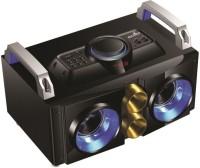 Jack Martin JM-Boombastic with Neon Lights 2.1 Channel Speaker with Inbuilt FM , USB & SD Reader Mini Hi-Fi System
