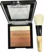 Coloressence Highlighters Coloressence Bronze Shimmer Brick Kit With Brush Highlighter