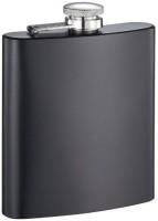 I-Gadgets Premium Matt Black Hip Flask (207 Ml)