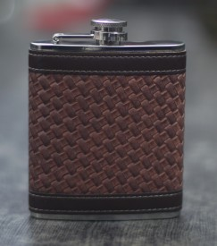 Mosaic Stainless Steel Hip Flask