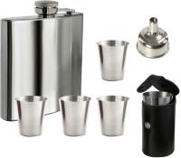 Soy Impulse Stainless Steel 6 Pcs Bar Set Hip Flask (236 Ml)