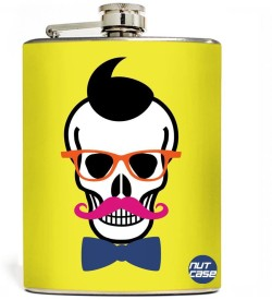 Nutcase Stainless Steel Hip Flask