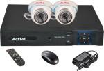Active AHD Combo, AHD 2MP Dome Camera 2Pcs + 2MP AHD DVR