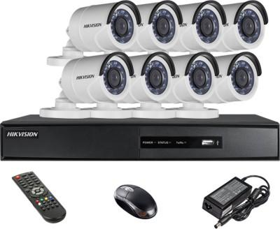 Hikvision DS-7208HGHI-SH 8-Channel Dvr ,8(DS-2CE16COT-IR) Bullet Cameras
