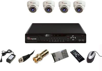 Tentronix-T-4AVR-4-D10-4Channel-AHD-DVR-+-4-(1-MP-36-IR)-Dome-Cameras