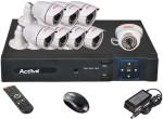 Active AHD Combo, AHD 2MP Bullet Camera 7Pcs And Dome Camera 1Pcs + 2MP AHD DVR