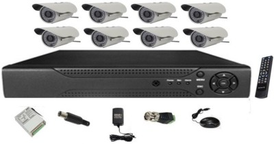 MDI-8-Channel-DVR-+-36-IR-(8-Bullet)-CCTV-Cameras-(With-500GB-H.D,Mouse,Remote,Power-Supply,Cable,Connectors)