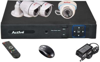 Active AHD Combo, AHD 2MP Bullet Camera 2Pcs And Dome Camera 1Pcs + 2MP AHD DVR