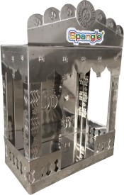 Spangle Stainless Steel Home Temple