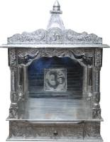 Pavitra Mandir 15 X 9 Open WG Full Aluminium Carving Wooden, Aluminium Home Temple (Height: 24 Cm)