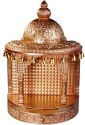 Cipla Plast Mandir (Wooden Finish) - Small Plastic Home Temple (Height: 22 Cm)