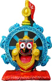 THE HOLY MART CHAKRA JAGANATH JI SMALL Polyresin Home Temple