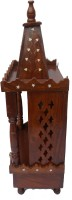 HANDICRAFT SHEESHAM WOOD MADE TEMPLE WITH DRAWER IN IT HEIGHT-70CM Wooden Home Temple (Height: 70 Cm)