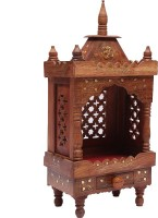 Aarsun Woods Wooden Temple In Sheesham Wood Wooden Home Temple (Height: 53.34 Cm)