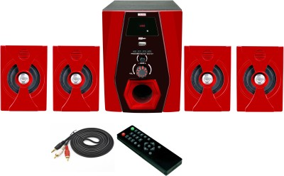 Vsure VHT-4008BT with BLUETOOTH,USB,FM & AUX-IN 4.1 Home Theatre System (led tv, Dvd, Pc, Laptop, Mobile, Tablets, Mp3/mp4 player etc.)