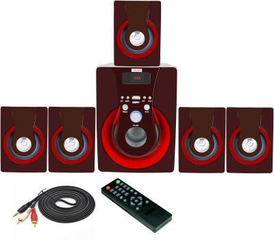 Vsure VHT-5009BT with BLUETOOTH,USB,FM & AUX-IN 5.1 Home Theatre System (led tv, Dvd, Pc, Laptop, Mobile, Tablets, Mp3/mp4 player etc.)