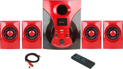 Vsure VHT019 4.1 Home Theatre System (Dvd, Usb Player)