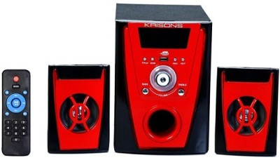 KRISONS MULTIMEDIA HOME THEATER WITH BLUETOOTH, FM, USB AND AUX 2.1 Home Theatre System (MP3)