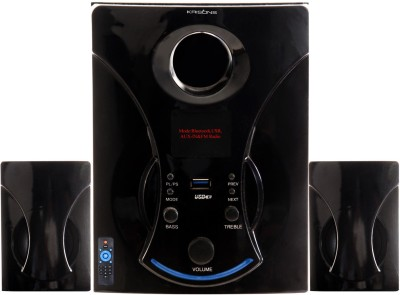 KRISONS BLUETOOTH MULTIMEDIA WITH USB,AUX-IN & FM Radio 2.1 Home Theatre System (MP3)
