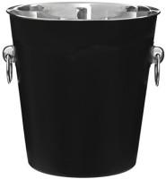 King International Stainless Steel Ice Bucket (Black 3.8 L)