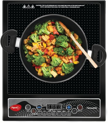 Upto 60% Off on Best Selling Range on Induction Cooktops | Pigeon Favourite IC 1800 W Induction Cooktop(Black, Push Button By Flipkart @ Rs.1,099