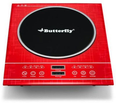 Butterfly Diamond 2000W Induction Cooktop