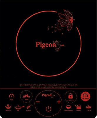 Pigeon Rapido Touch with 2 In 1 Base Junior Kit Induction Cooktop