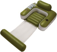 Jilong UV-Cut Sun-Shaded Inflatable Lounger (Green)