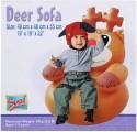 Suzi Deer Horse Inflatable Sofa - Brown