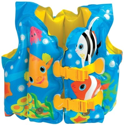 Intex Fun Fish Inflatable Swim Vest Blue