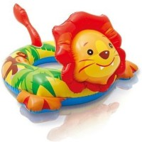 Sale And Discount Lion Shape Ring Inflatable Pool (Multi Colour)