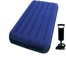 Intex Gold Dust Single Air Lock with Pump QUA1106 Inflatable Bed