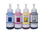 InkPro Ink Set For Epson Printer L100 / L110 / L200 / L210 / L220 / L300 / L350 / L355 / L550[ Set Of 4 Colors ] Multi-color Ink (Cyan, Magenta, Yellow, Black)
