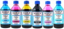 Ample India 200ML Compatible For Epson L100,L110,L200,L210,L300,L350,L355,L550,L555 Black,Yellow,Magenta,Cyan,Light Magenta & Light Cyan Ink (Black, Yellow, Magenta, Cyan, Light Magenta, Light Cyan)