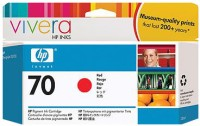 HP 70 Red Ink Cartridge