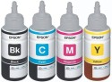 EPSON L100/L200/L300/L350 Multi Color Ink (Black, Yellow, Magenta, Cyan)