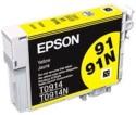 Epson Cartridge 91N Original Yellow Ink (Yellow)