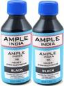 Ample India 100ML Compatible For Epson L100,L110,L200,L210,L300,L350,L355,L550,L555 Black Ink (Black)