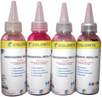 Colorite Brother 100ml x 4 colours Multi-color Ink