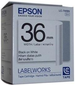 Epson 36mm Black on White Toner