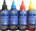 Gocolor HP Premium High Quality Refill Ink Black Pigment & C/M/Y Dye Ink Multicolor Ink (Black, Cyan, Magenta, Yellow)