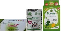 Surety For Safety Freedom + Herbal Anti Mosquito Bracelet(Pink) + Mosquito Repellent 50patch (Pack Of 3)