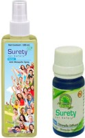 Surety For Safety Herbal Anti Spray, Diffuser Oil (Pack Of 2)