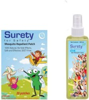 Surety For Safety Herbal Mosquito Patches 20, Anti Spray (Pack Of 2)