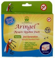 Aringel Herbal Mosquito Repellent Patch (50 Pcs) 2nd Genration (Pack Of 50)