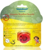 Healthbuddy Insect Repellents Healthbuddy Natural Mosquito Repellent Bracelet Red