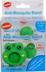 RunBugz Insect Repellents RunBugz Froggy Anti Mosquito Bracelet